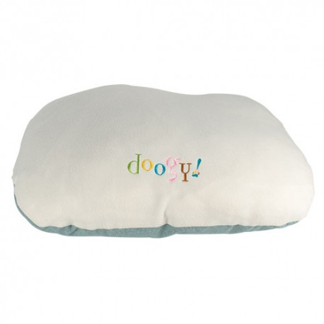 Puppy Paradise Cushion light blue