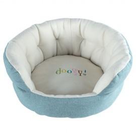 Puppy Paradise Basket light blue