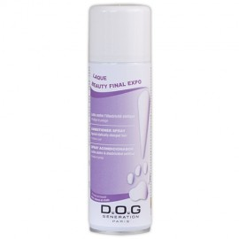 Dog Generation hair spray Beauty Fix Expo
