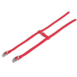 "Nylon harness ""H"" red"