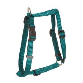 Doogy classic nylon harness - green