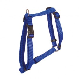 Doogy classic nylon harness - blue