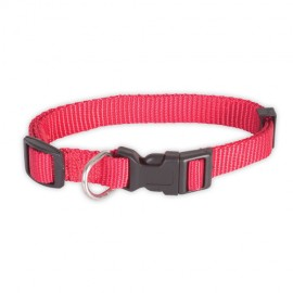 Doogy classic nylon collar - red