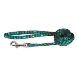 Doogy fancy simple nylon lead - green