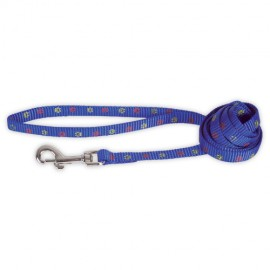 Doogy fancy simple nylon lead - blue