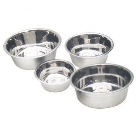 Classic stainless steel bowl