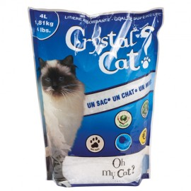 Crystal cat litter - 4 liters bag