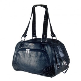 Doogy black leather-like bag