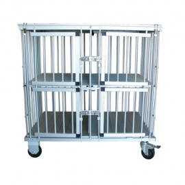 Foldable cage expo