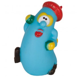 Walking vegetable squeaky dog toy
