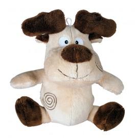 Cow cuddly dog toy