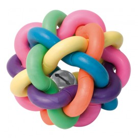 Intertwined ball with bell