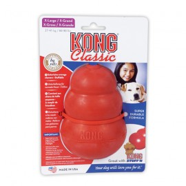 Kong classic rubber toy