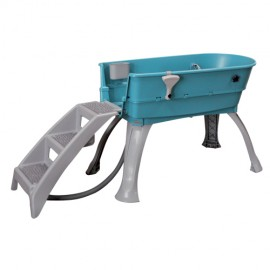 Electrical frame stainless steel grooming bathtub