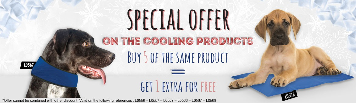 SPECIAL OFFER ON THE COOLING PRODUCTS